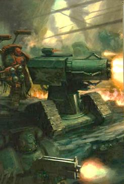 Cañón Tormenta Salamandras Marines Espaciales Warhammer 40k Wikihammer