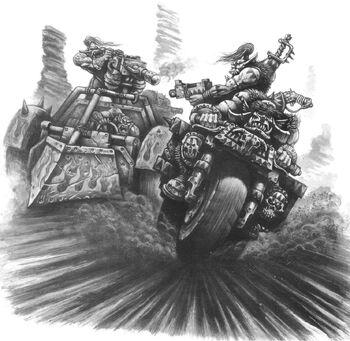 Combate entre Bandas Gorkamorka