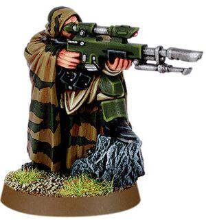Miniatura guardia cadia francotirador