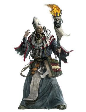 Sacerdote Adeptus Ministorum Eclesiarquía