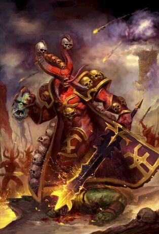 Caos demonios khorne despojacraneos 8 edicion