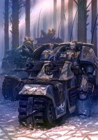 Marine lobo escuadra motocicletas