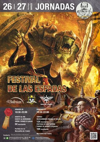Festival de Espadas 2016 Murcia torneo warhammer