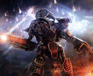Titan reaver legio mortis ola de pavor