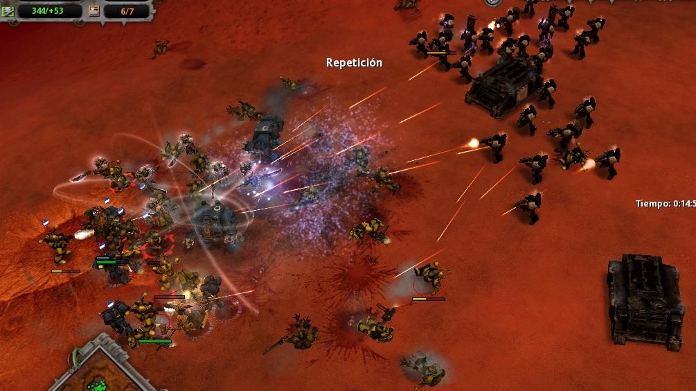 35 Uno tras otro, los renegados caen ante los ataques psíquicos de los Caballeros Grises y el fuego de apoyo Templario.