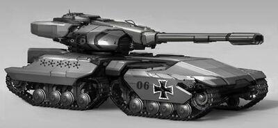 Kampfwagen Grimmkrieg Balhaus