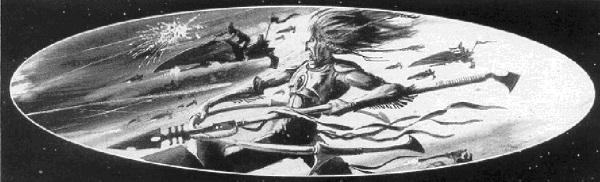 Nuadhu Corazón de Fuego 3ª Edición ilustración
