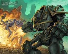 Caos hijos de horus dreadnought contemptor