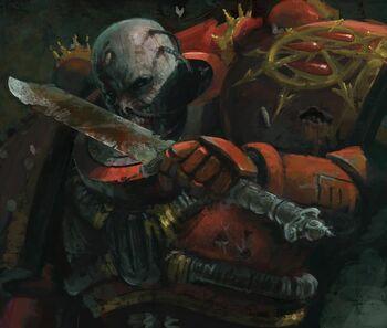Dornian Heresy Blood Angel Nurgle Warhammer 40k wikihammer