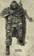 Primero y Último de Tanith Explorador Jefe Oan Mkoll