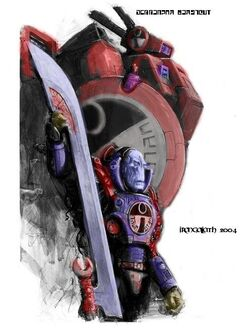 Tau comandante farsight color