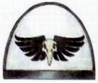 Águilas de la Muerte Hombrera