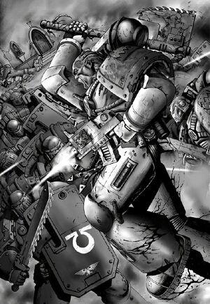 Escuadra Arrasadora Devoradores Mundos vs Ultramarines