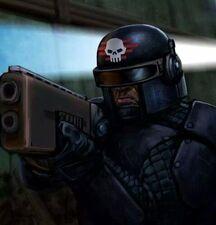 Imperio arbites arbitrador escopeta combate