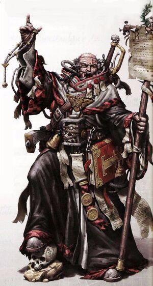 Sacerdote Imperial Adeptus Ministorum Misionero Eclesiarquía Wikihammer