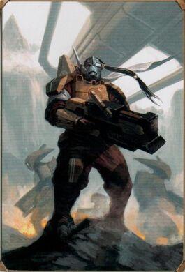 Shi'vre Myamoto Tau Rastreador Warhammer 40k Wikihammer