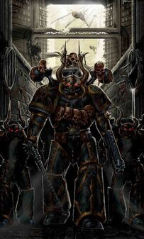 Caos legion negra marines del caos