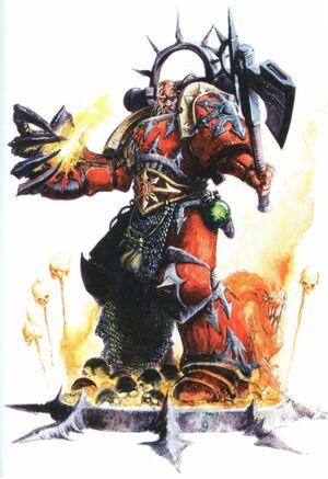 Huron Blackheart Badab Corsarios Rojos Caos Wikihammer