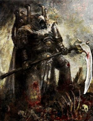 Mortarion Primarca Warhammer 40k Wikihammer