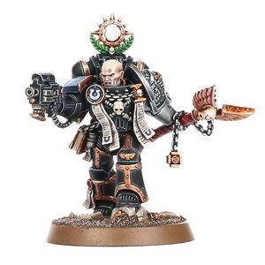 Ortan Cassius Capellán Ultramarines Guardianes de la Muerte