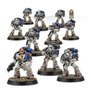 Escuadra Táctica Veterana Mk. IV Maximus Legión Devoradores de Mundos