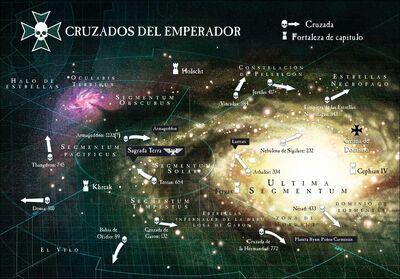 Mapa templarios negros cruzadas