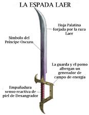 Arma espada laer