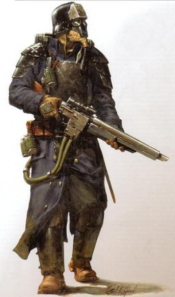 Guardia imperial korps muerte krieg soldado