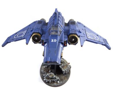 Interceptor Xiphon Ultramarines