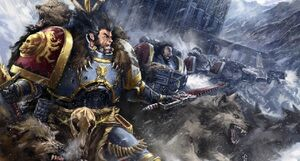 Lobos Espaciales Russ Wolfen Warhammer 40k Wikihammer
