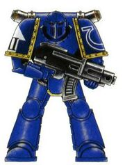 Servoarmadura Mk3 Hierro Marines Espaciales Wikihammer