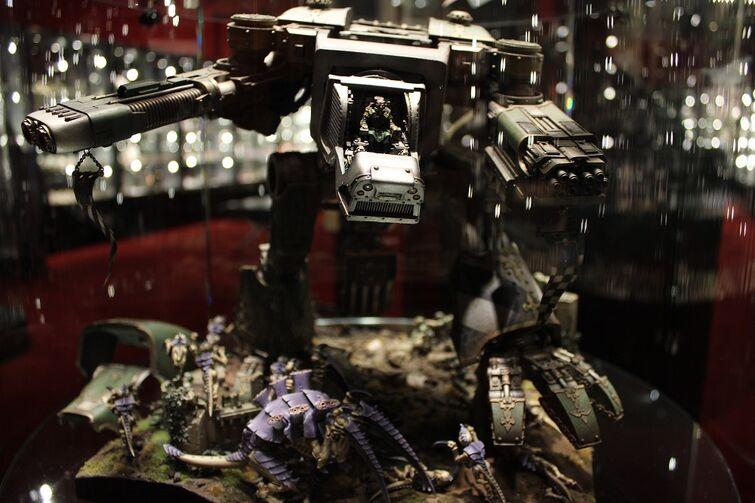 Warhammer World Nottingham Wikihammer Titan Warhound 2