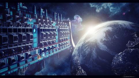 Acorazado Imperial Orbita Terra Wikihammer