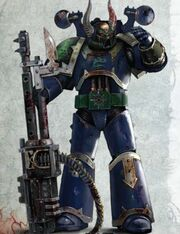 Alpha Legion Traitor Marine
