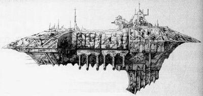 Caos flota crucero ligero Pestilente