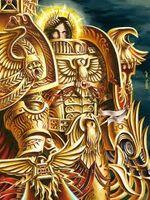 Emperador armadura dorada