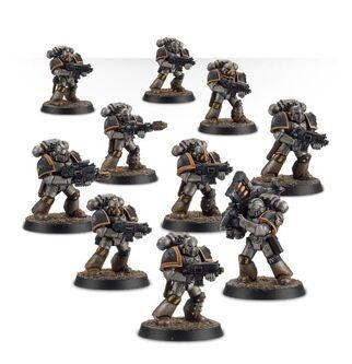 Escuadra Táctica Veterana Mk. IV Maximus Legión Guerreros de Hierro