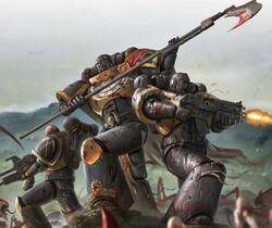 Guadañas del Emperador en combate