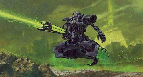 Destructor necrones gauss warhammer 40k wikihammer