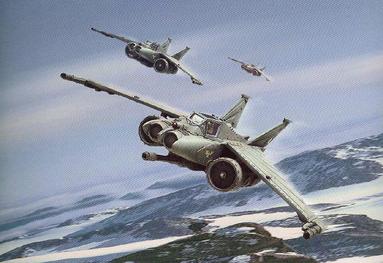 Formacion Lightning de Patrulla Wikihammer Aeronaves Armada Imperial Wikihammer