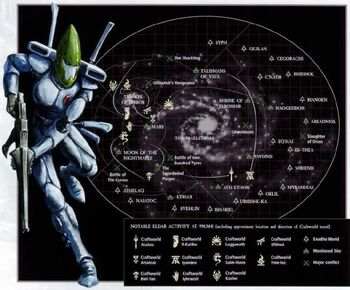 Mundos Astronave Eldar Craftworld