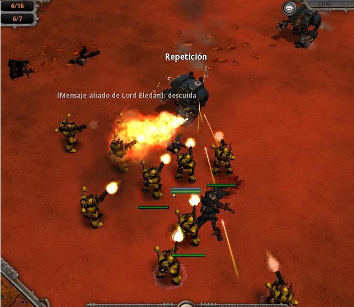 41 Otros dreadnoughts, Ultramarines, encabezan un segundo ataque a la base del Caos.