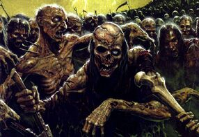 Caos zombies de plaga warhammer