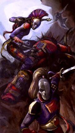 Eldar arlequines Hijos de Cegorach