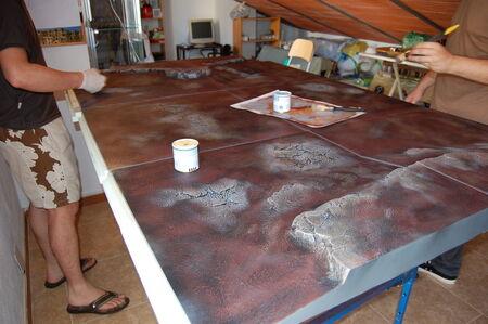 Pintura tablero modular 04