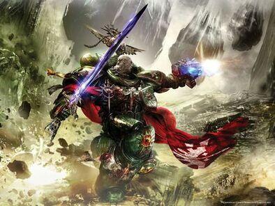 Marines angeles oscuros capitán espada energia