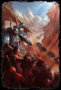 Caos legion alfa ordenes a rebeldes