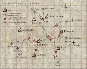 Mapa Batalla Colmillo Asaheim Fenris Lobos Espaciales Mil Hijos Wikihammer