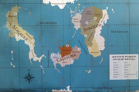 Mapa Completo Mundo de Rynn
