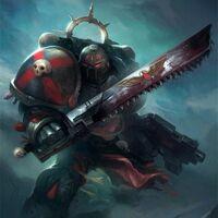 Marines angeles sangrientos compañia de la muerte espada sierra